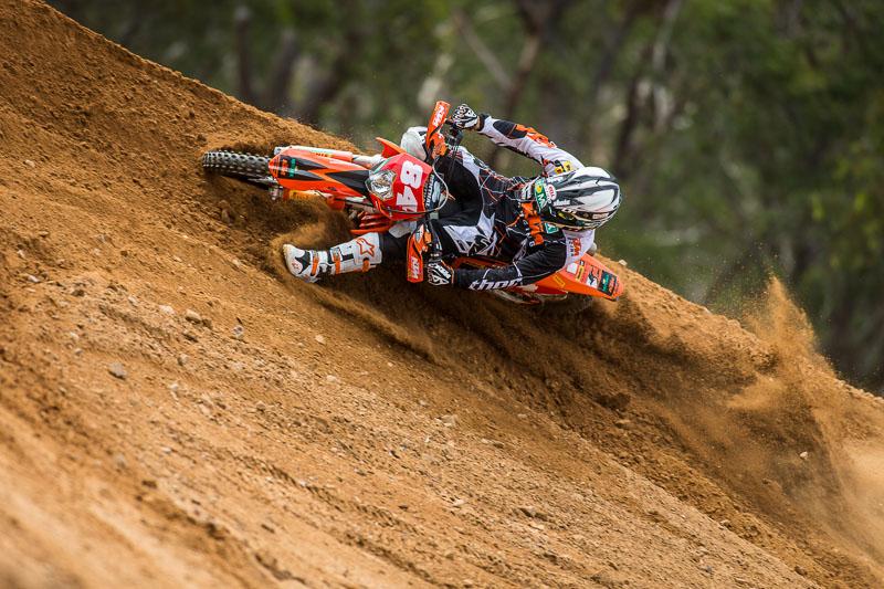 2013 KTM Australia Race Team photo-shoot