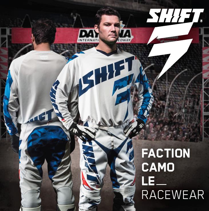 Shift Faction LE Daytona Racewear