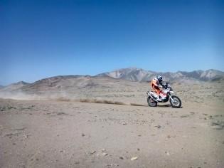 Amazing backdrop from Atacama