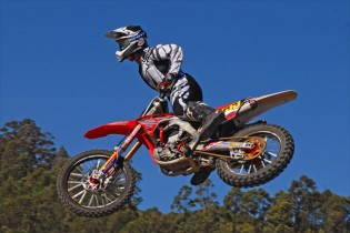 Junior Lites racers like Wilson Medcalf from CRF Honda Racing will benefit from reduced entry fees at the Queensland rounds of the 2015 Australian Supercross Championship.