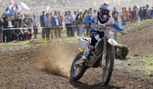 Ryan Sipes aboard his Husqvarna