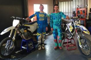 Brett Metcalfe and Luke Arbon