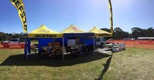 MX1 Australia -  Suzuki Motorcycles Australia Off Road Team all set and ready for the A4DE in Tasmania.