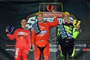 SXD Round one podium