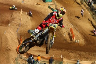 Suzuki's Yohei Kojima wins the All Japan Motocross Championship