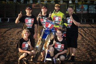 Wilson secured the 2015 MX2 championship