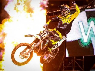 Jason Anderson Wins the 450 class at Anaheim