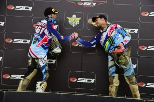 Romain Febvre and Jeremy Van Horebeek