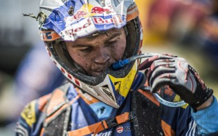 Wade Young of South Africa seen during the second race day at the Red Bull Romaniacs in Sibiu, Romania on July 16th, 2015. // Predrag Vuckovic/Red Bull Content Pool // P-20150716-00259 // Usage for editorial use only // Please go to www.redbullcontentpool.com for further information. //